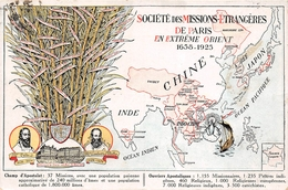 Société Des Missions-Etrangères De Paris En Extrême Orient - CHINE, INDICHINE, INDE, COREE, MANDCHOURIE - Illustrateur - Christianisme