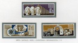 Malta - 1973 - Natale - 3 Valori - Nuovi - Vedi Foto - (FDC14043) - Malta