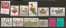 Czech Republik Small Collection Obl - Timbres