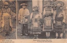 ¤¤  -  LAOS   -  Jeune Mariée Lolo  -  Jeune Homme Et Jeune Filles Lolos     -  ¤¤ - Laos