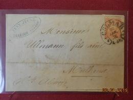 Lettre D Allemagne De 1876 Pour Mulhouse - Lettres & Documents
