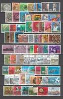 SVIZZERA  Us 1980-1984   N.70 Valori Con N.16 Serie Complete      -     Vedi Foto ! - Schweiz