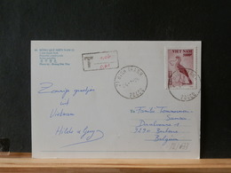82/633     CP VIETNAM TO BELG. - Vietnam