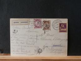 82/636   CP SUISSE POUR LA BELG. 1933 TAXEE  VIGNETTE INCONNU - Switzerland