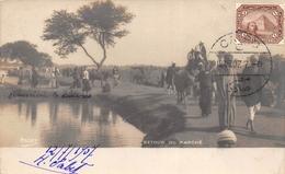 ¤¤   -   EGYPTE  -   Carte-Photo Du Retour Du Marché   -  ¤¤ - Egitto