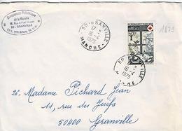TP 1829 Seul Sur Enveloppe De Granville - 1961-....
