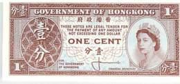 CHINE - HONGKONG - ONE CENT   - NEUF - China