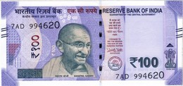 India - Pick New - 100 Rupees 2018 - Unc - India