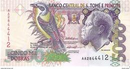 Saint Thomas & Prince - Pick 65a - 5000 Dobras 1996 - Unc - Sao Tomé Et Principe