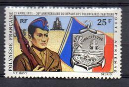 POLYNESIE ( AERIEN ) : Y&T  N°  47  TIMBRE  NEUF  AVEC  TRACE  DE  CHARNIERE . - Luftpost