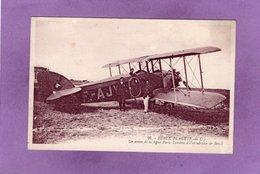 62 BERCK PLAGE Un Avion De La Ligne Paris Londres à L'aérodrome De Berck - Berck