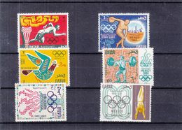 Qatar - Jeux Olympiques Mexique 68 - Michel 361 / 66 ** - Disque - Haltères - Sprint - Valeur 25 Euros - Qatar
