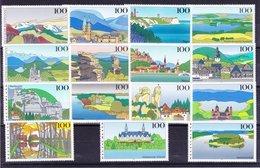 Duitsland Kleine Verzameling Landschappen **, Mooi Lot K804 - Timbres