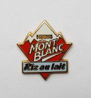 Pin's Nestlé Riz Au Lait Mont Blanc - BL1 - Badges