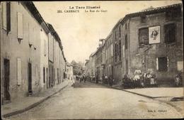 Cp Carmaux Tarn, La Rue Du Gayt - France