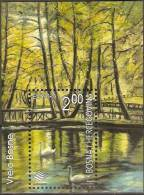 CEPT 2001 Bosnie Herzégovine Yvertn° Bloc 11 *** MNH Cote 4 Euro Faune Oiseaux Vogels - Bosnie-Herzegovine
