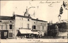 Cp Étain Lothringen Meuse, Rue Du Pont, Magasin Lambert Noel, Boulangerie - Francia