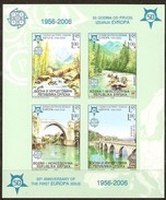 Bosnie-Herzégovine Serbe Pale 2005 Yvertn° Bloc 13 *** MNH Ongetand ND Cote 30 Euro 50 Ans Europa 50 Jaar - Bosnie-Herzegovine