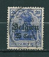 BZ/OC 18 Gestempeld CASTEAU - WW I