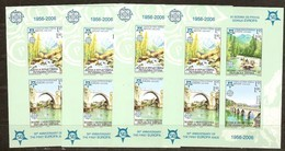 Bosnia Bosnie-Herzégovine Serbe Pale 2005 Yvertn° Bloc 13 *** MNH 4 X Ongetand ND Cote 120 Euro 50 Ans Europa 50 Jaar - Bosnie-Herzegovine
