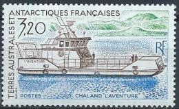 TAAF Neuf  N° 158 De 1991 Bateau Chaland - Unused Stamps