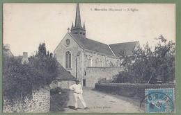 CPA - MAYENNE - MARCILLÉ - L'ÉGLISE -  Animation - Edition J. Sorel - France