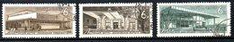 URSS. N°3037-9 Oblitérés De 1965. Métros Soviétiques. - Strassenbahnen