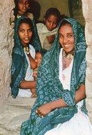 ETHIOPIA FAMILY IN HAUZIEN VALLEY VILLAGE NORTHERN ETHIOPA CARTE PHOTO - Ethiopie