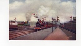 LES LOCOMOTIVES  (Royaume-Uni) SHRUB HILL STATION WORCESTER. - Trains