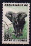 """COTE D'IVOIRE :-- Y&T (o) N° 177 """" Elephant """" - Côte D'Ivoire (1960-...)"""
