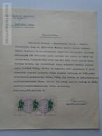 ZA181.9  JUDAICA - PÉCS Hungary - Pesti Izraelita Hk. - CSUK Mórtiz (1816)  - Tailor  (Tschuk)  1939 - Faire-part