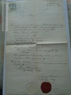 ZA181.11 Old Document - Budapest, Hungary - 1865 -  Nagyvárad (Oradea)  - Anna(1857) (Barna- Springsfeld) 1865 - Naissance & Baptême