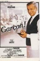CPM Affiche Sur Carte: GARCON Avec Yves Montand, De C Sautet Et J.L. Dabadie - Manifesti Su Carta