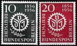 Série De 2 T.-P. Neufs** - Centenaire De L'association Nationale Des Ingénieurs - N° 123-124 (Yvert) - Berlin 1956 - [5] Berlin