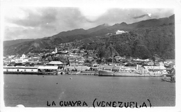 ¤¤  -  VENEZUELA   -  Carte-Photo De LA GUAYRA  -  Le Port  -  Cargo , Bateau De Commerce  -   ¤¤ - Venezuela
