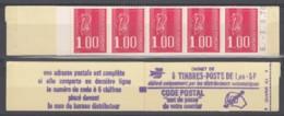 N° 1892 C1 A   - Gomme Mate - Daté 03/08/76 - ( F 703 ) - Carnets