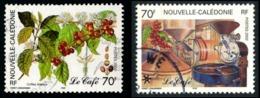 NOUV.-CALEDONIE 2002 - Yv. 869 Et 870 Obl.   Cote= 2,40 EUR - Caféier & Usine, Torréfacteur (2 Val.)  ..Réf.NCE24539 - Usados