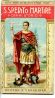 LIB 16 - S. ESPEDITO MARTIRE - BERTARELLI EDITORE - 32 PAGINE + COPERTINA - Religione & Esoterismo
