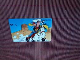 Lucky Luke Telecarte  (Mint,Neuve) 2 Scans  Rare - Comics