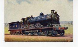 LES LOCOMOTIVES  (Royaume-Uni) CALEDONIAN RAILWAY 4-6-0 EXPRESS SIR JAMES THOMPSON. - Trains