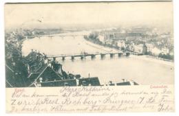 Basel - Totalansicht 1902 - BS Bâle-Ville