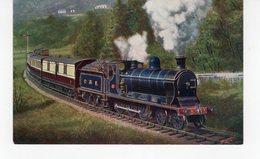 LES LOCOMOTIVES  (Royaume-Uni) 12.35 OBAN EX. CALLANDER AND OBAN BRANCH CALEDONIAN RAILWAY. - Trenes