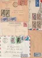 Lot 10 Lettres Et 2 Devants Tout état - France (former Colonies & Protectorates)
