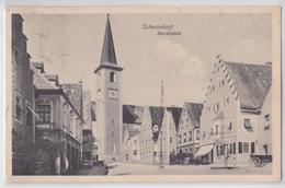 SCHWANDORF - Marktplatz - Briefmark - Schwandorf