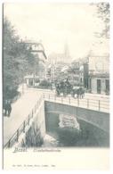 Basel - Elisabethenkirche  Mit DILIGENCE Und Leben Um 1905 - BS Basel-Stadt