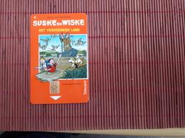 Bob Et Bobette Telecarte Het Verdronken Land (Mint,Neuve) Tirage 500 EX - BD