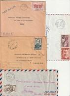 Lot 19 Lettres AEF / AOF Toutes En Relativement Bon état - France (former Colonies & Protectorates)