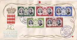 MONACO    1956 FDC - FDC