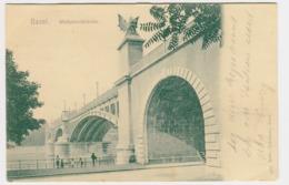 Basel - Wettsteinbrücke 2505 Rathe-Fehlmann 1906 - BS Basel-Stadt