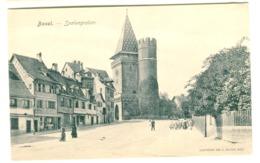 Basel - Spalengraben Von H. Speiser Um 1908 - BS Basel-Stadt